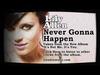 Lily Allen - Never Gonna Happen