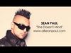 Sean Paul - She Doesn't Mind (AUDIO)