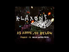 Klaxons - As Above So Below (Justice Remix)