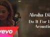 Alesha Dixon - Do It For Love Acoustic