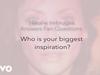 Natalie Imbruglia - Biggest Inspiration