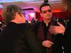 Chris Cornell, Bono, Elton John Los Angeles Feb 2013