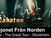 SABATON - Lejonet Från Norden (Live - The Great Tour - Stockholm)