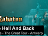 SABATON - To Hell And Back (Live - The Great Tour - Antwerp)